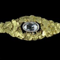 Ancienne Broche 3 Diamants
