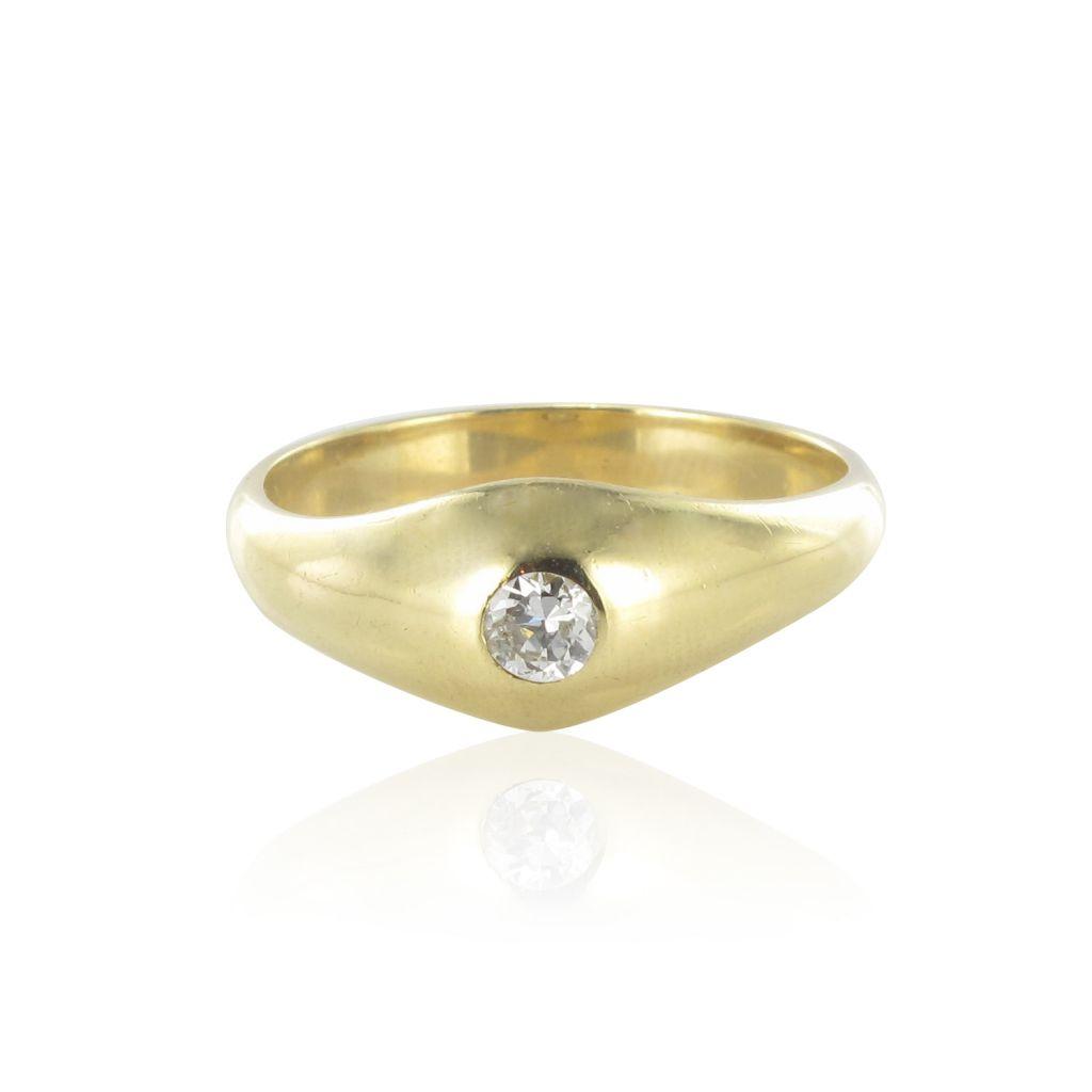 bague jonc diamant solitaire bague diamant homme. Black Bedroom Furniture Sets. Home Design Ideas