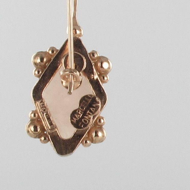 BO310 Boucle d 'oreille vermeil (5)