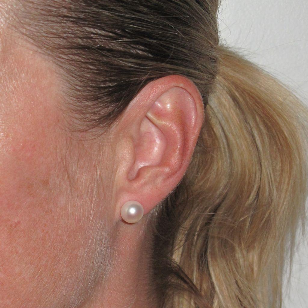 BOP Boucles d 'oreilles perle  (3)
