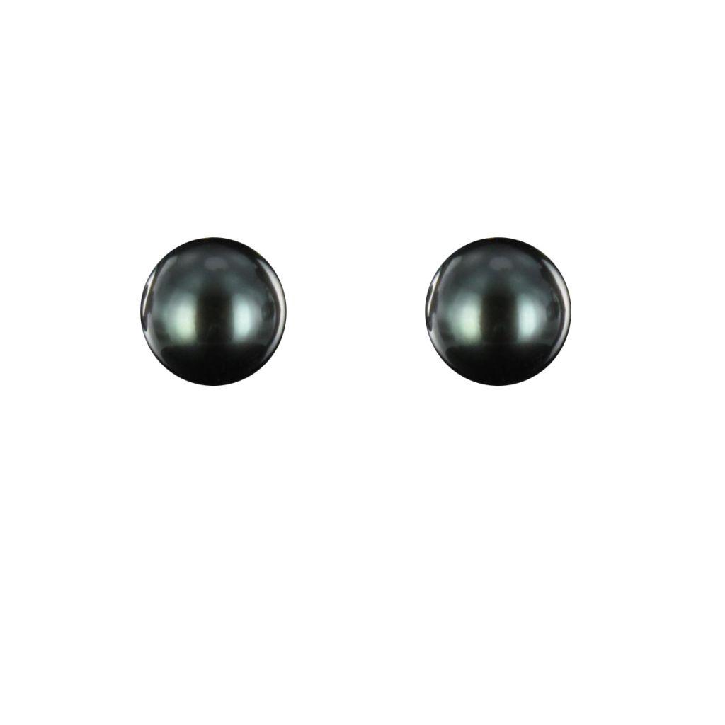 Boucles d 'oreilles Perles de Tahiti