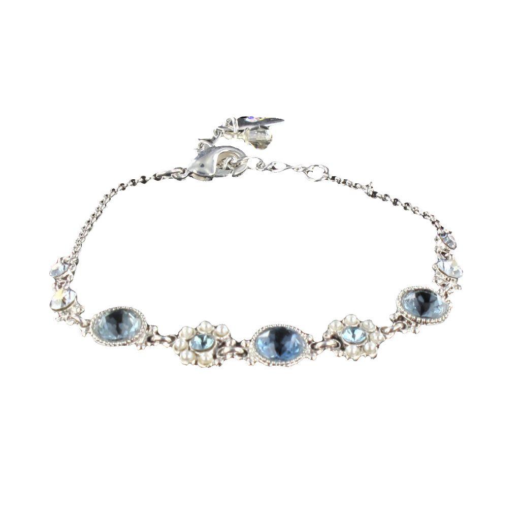 Bracelet Cristal de Swarovski et Perles