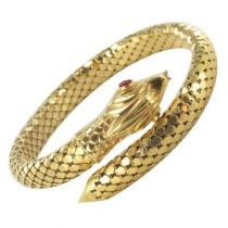 Bracelet Serpent en Or