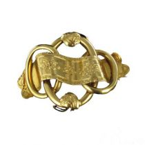 Broche ancienne Or