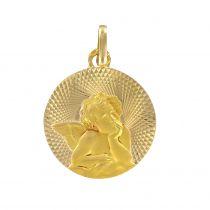 Médaille or angelot