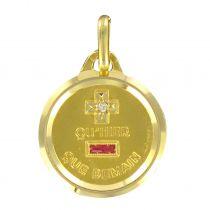 Médaille or plus qu\'hier moins que demain