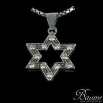 Pendentif Etoile Diamants et sa chaîne