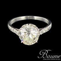 Solitaire ancien Diamants