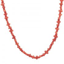 Collier ancien en corail