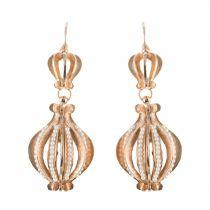 Openwork Dangle Earrings