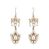 Boucles d'oreilles pendantes italiennes