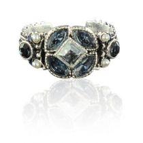 Bague Cristal de Swarovski et perles