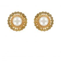 1900's Antique pearl earrings