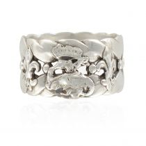 19th century antique silver ring