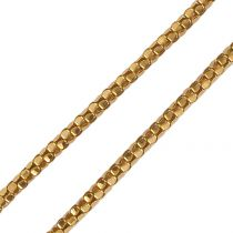 French 1960s 18 Carat Rose Gold Chain Necklace