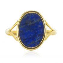 Bague ancienne lapis lazuli