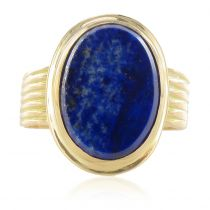 Bague lapis lazuli ancienne