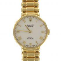 Rolex Ladies Yellow Gold Cellini Mechanical Wristwatch