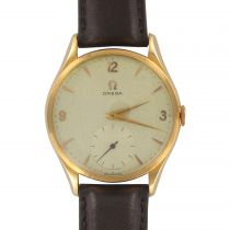 1960s Retro Omega 18 Karat Gold Men's Watch