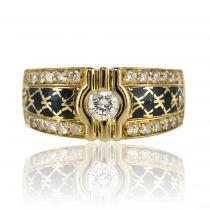 Bague Korloff Diamants et Email