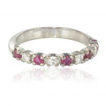 Alliance diamants rubis