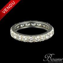 Alliance or blanc diamants