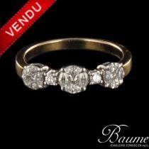 Anneau diamants