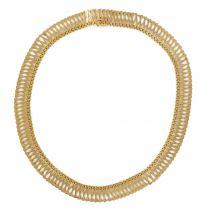 Antique Gold Necklace - Vintage Gold 18k necklace - Antique Gold jewelry
