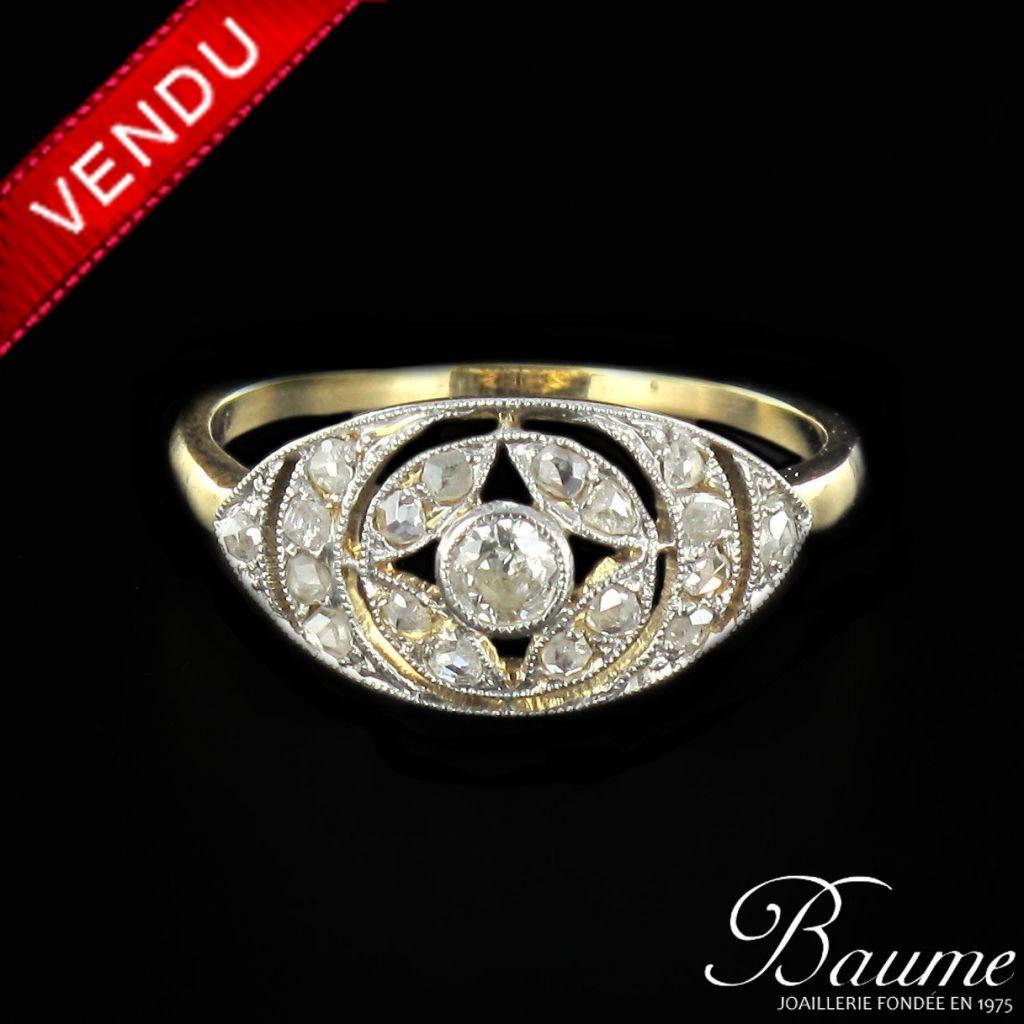 Bague 1925 diamants