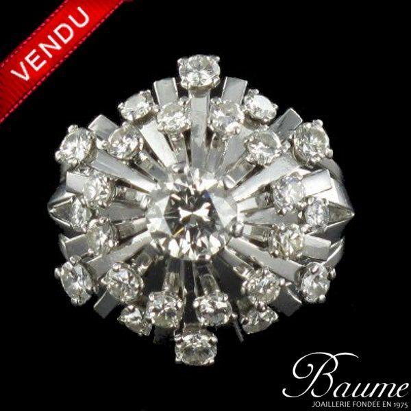 Bague 1960 Diamants