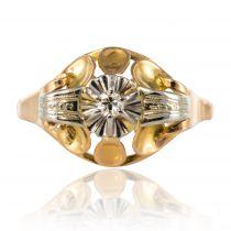 Bague ancienne diamant vintage