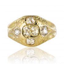 Bague ancienne diamants 18ème siècle