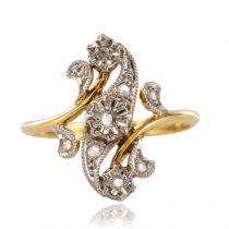 Bague ancienne Diamants Belle époque