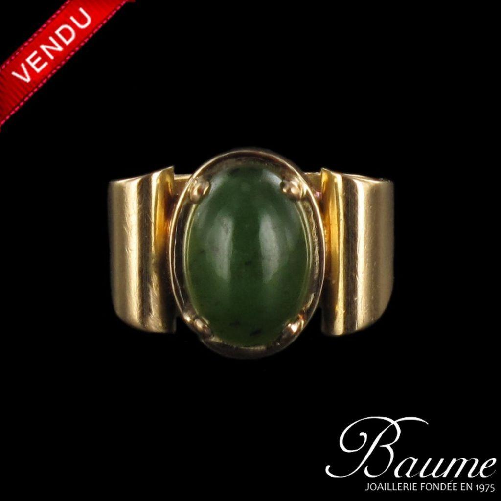 Bague ancienne Jade