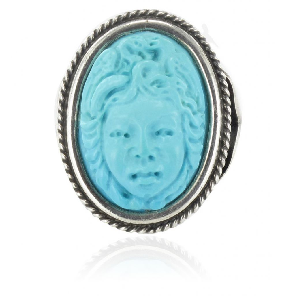 bague cam e turquoise bague ancienne turquoise. Black Bedroom Furniture Sets. Home Design Ideas