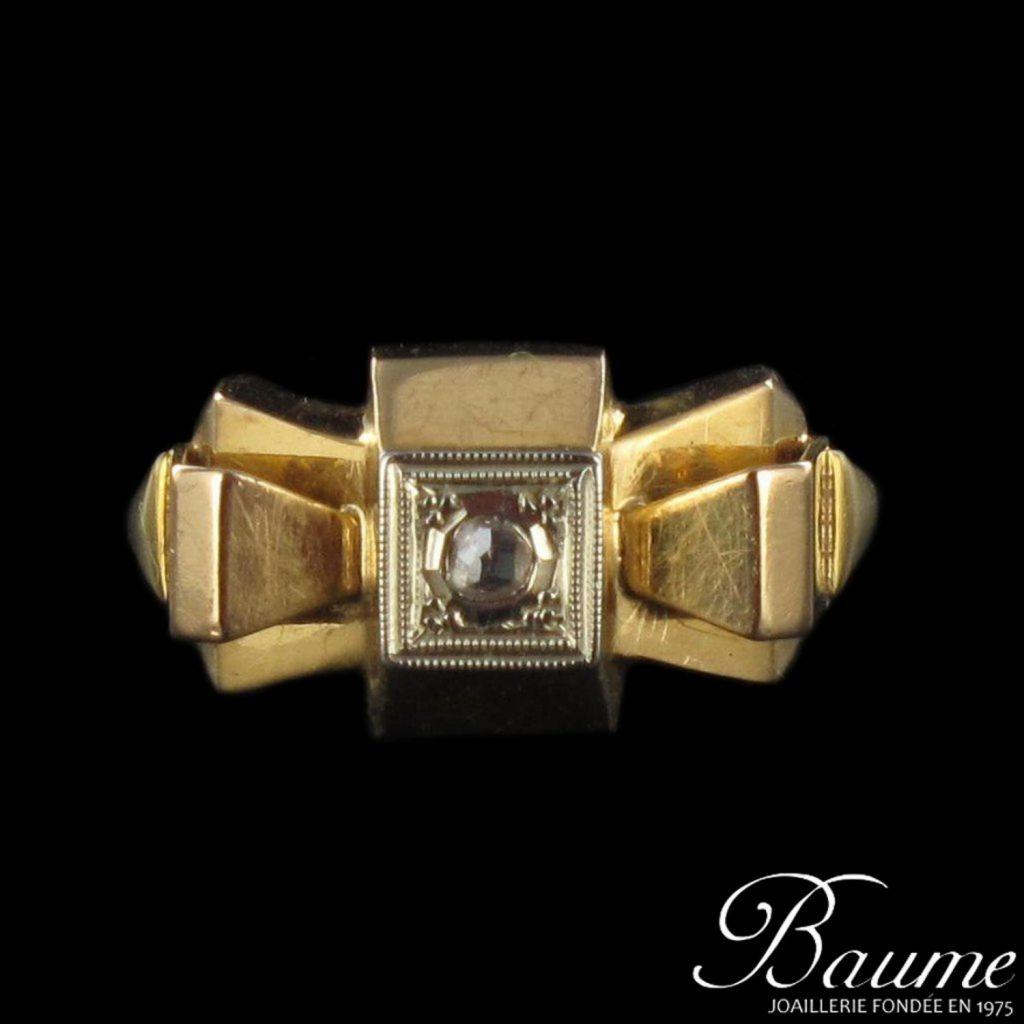 Bague Diamant 1940