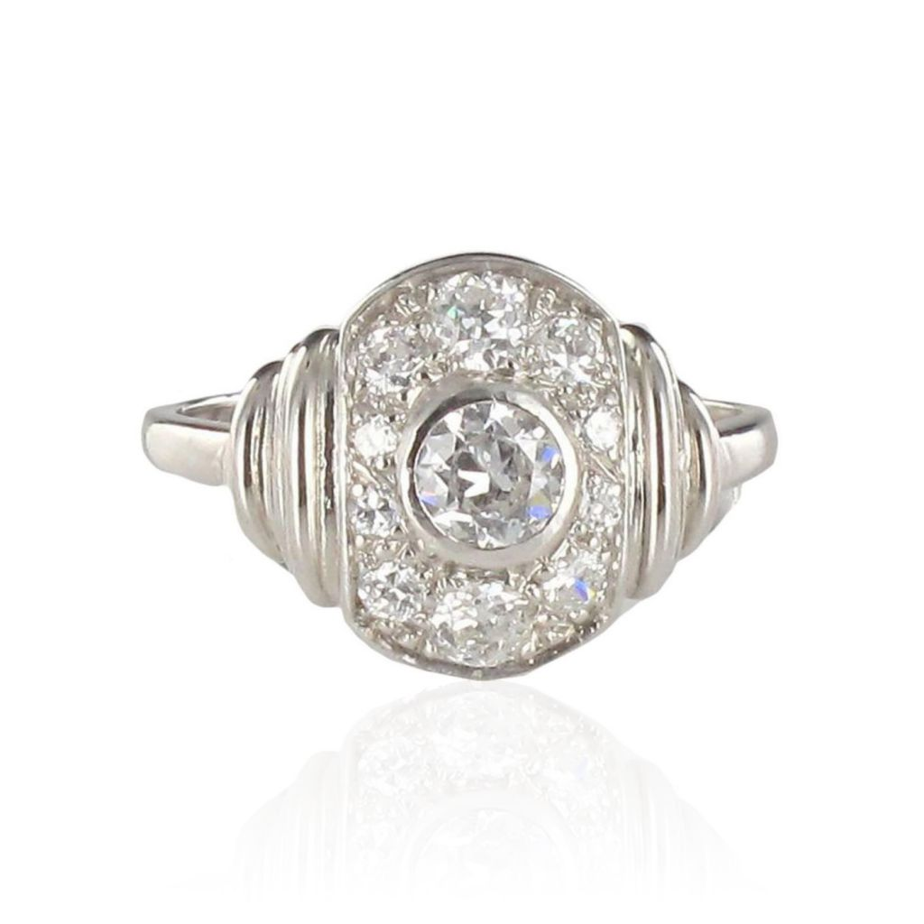 Bague diamants 1930