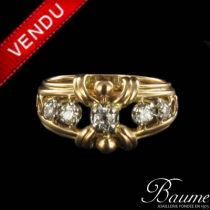 Bague diamants 1960