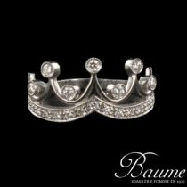 Bague Diamants Couronne