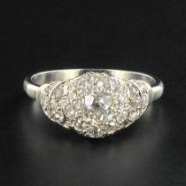 Bague diamants des années 30