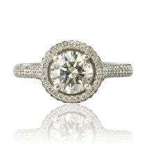 Bague Diamants et Platine