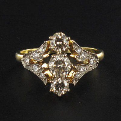Bague diamants G 3