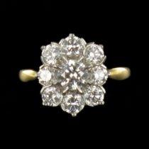 Bague Diamants Marguerite G 26