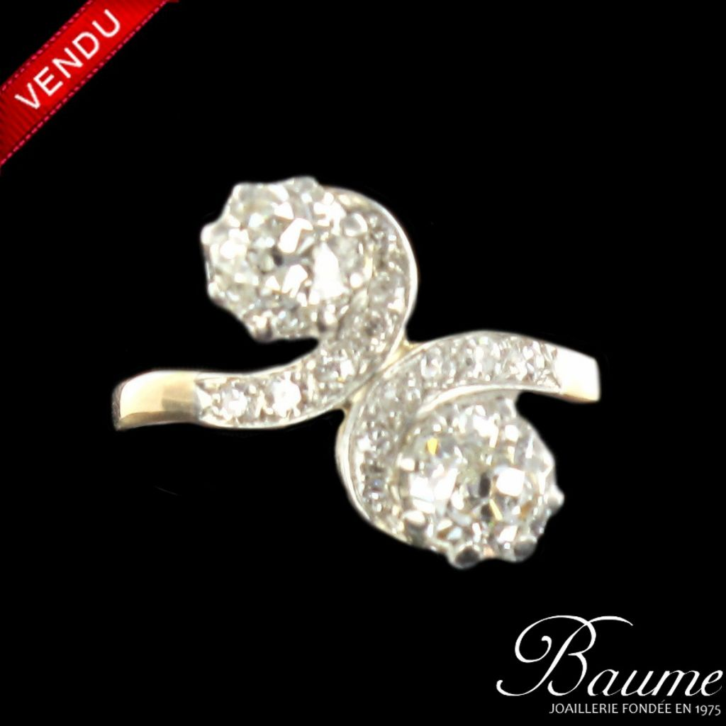 Bague diamants S