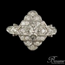 Bague Diamants style marquise