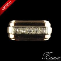 Bague diamants tank