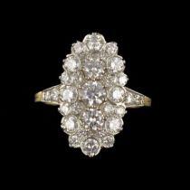 Bague Marquise Diamants G 21