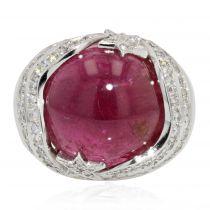 Bague Mauboussin Rubis Diamants
