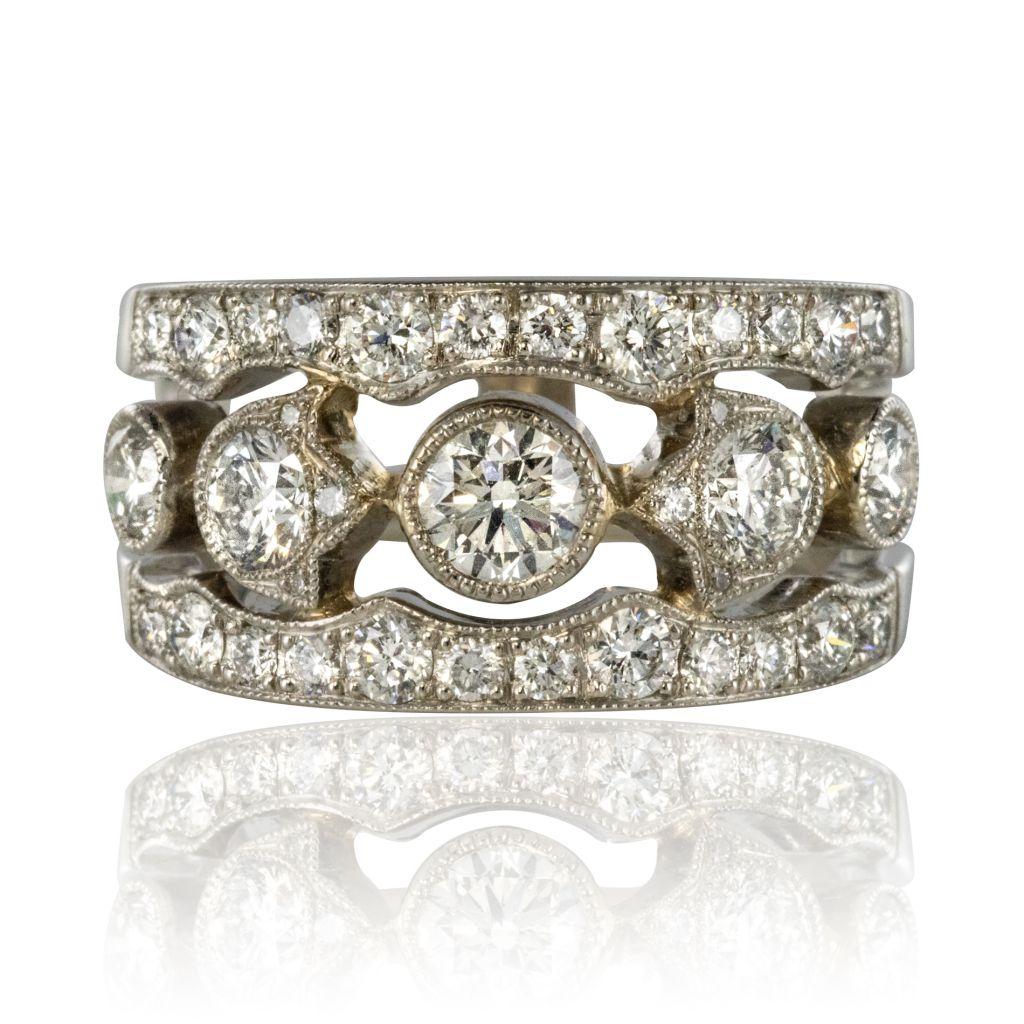 bague diamant bandeau