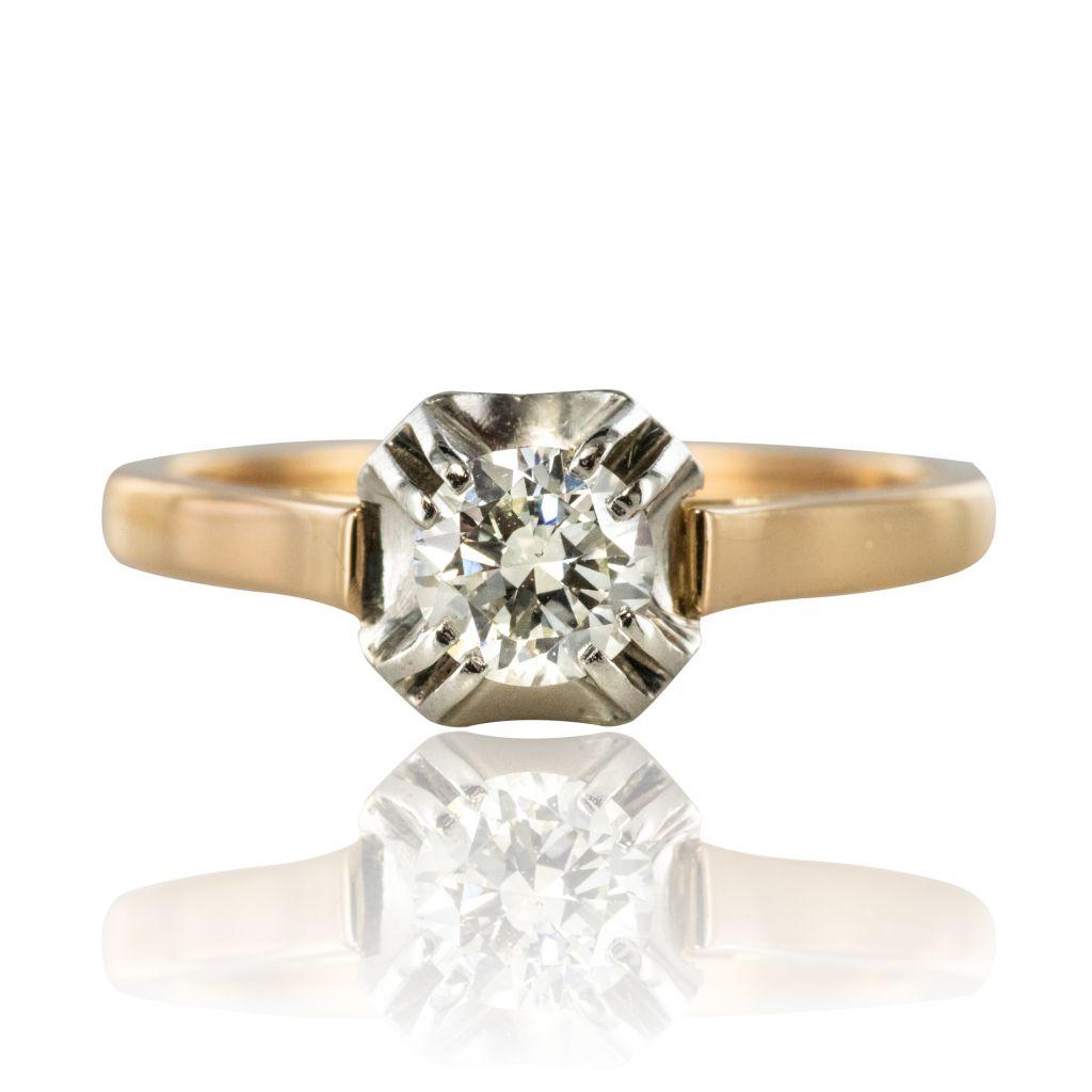 bague solitaire diamant ebay